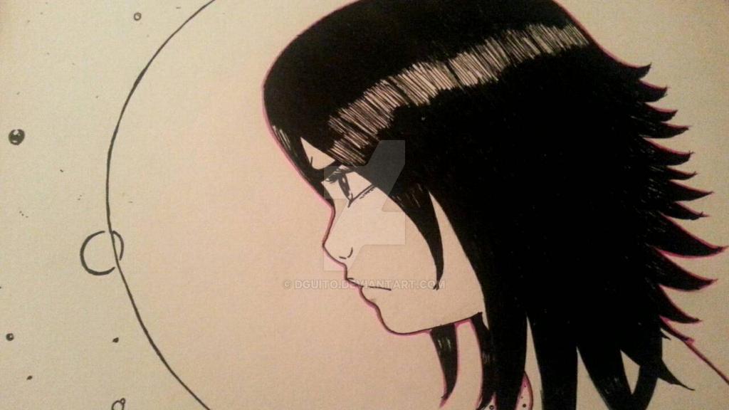 Black Hair Girl by DGuito