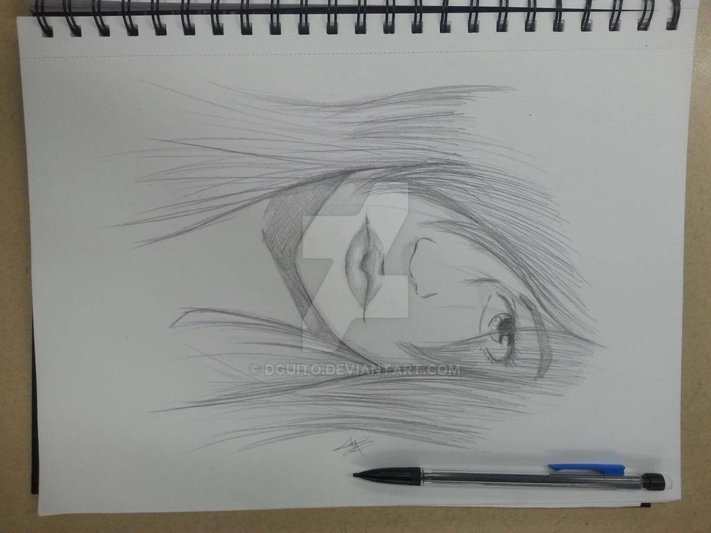 Girl Sketch by DGuito