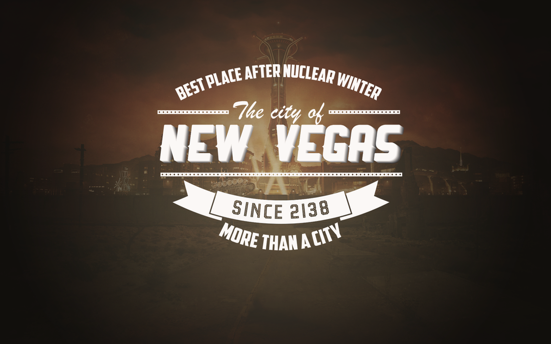 fallout typographic wallpaper by - photo #9