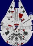 YT-1300-R: Millennium Falcon
