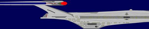 Celestial Class Starship by captshade