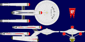 USS Federation Multi-View