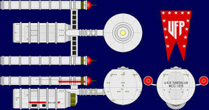 USS Daedalus Multi-View by captshade