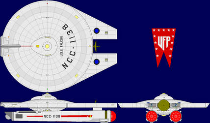 USS Falcon Multi-View by captshade