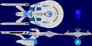 USS Heero Multi-View by captshade