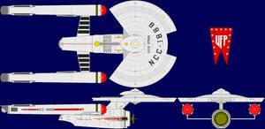 USS Stern Multi-View