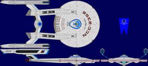 USS Andromeda Multi-View