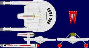 USS Copernicus Multi-View by captshade