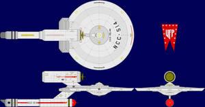 USS Kelvin TOS Multi-View