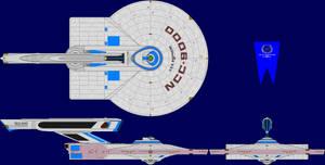 USS Shepherd Refit Multi-View