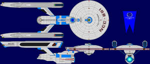 USS Hyperion TMP Multi-View