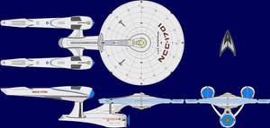 USS Enterprise AU Multi-View