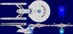 USS Asia Refit Multi-View