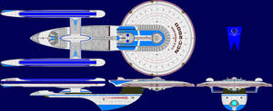 USS Excelsior Multi-View