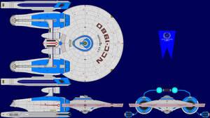 USS Heckadon TMP Multi-View
