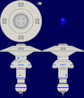 Spacedock 'SB-1' Multi-view by captshade