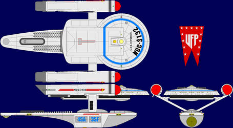 USS Hyperion Multi-View