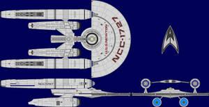 USS Newton Multi-View by captshade