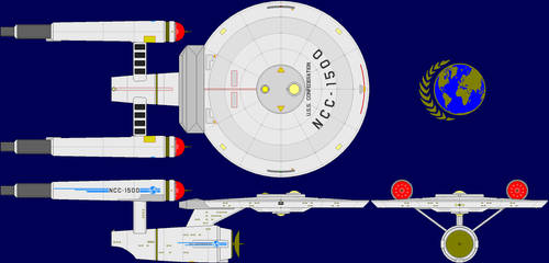 USS Confederation Multi-View