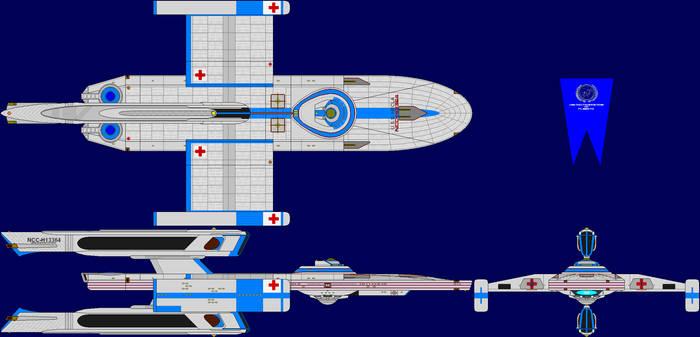 USS Hecla Multi-View
