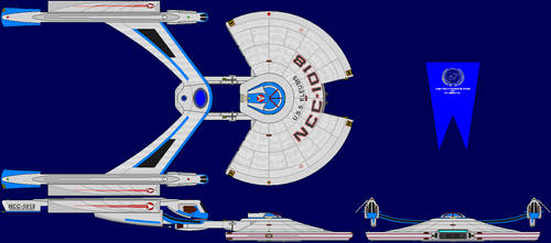 USS Eleusis Multi-View