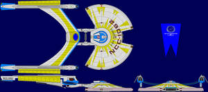USS Talence Multi-View