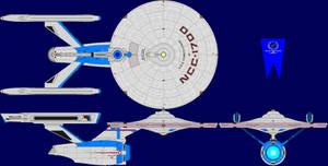 USS Constitution Multi-View