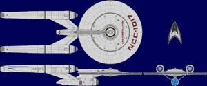 USS Constellation AU Multi-View by captshade