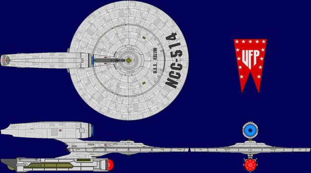 USS Kelvin Multi-View