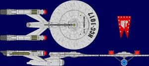 USS Constellation Multi-View
