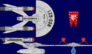 USS Columbia Multi-View