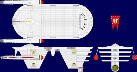 USS Edmund Fitzgerald Multi-View by captshade