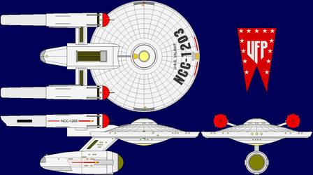 USS Valiant Multi-View by captshade
