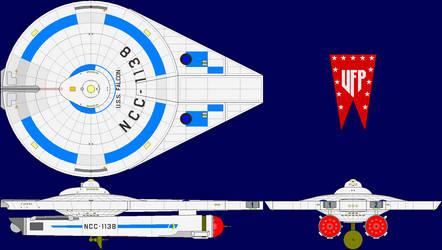 USS Falcon Multi-View by captshade