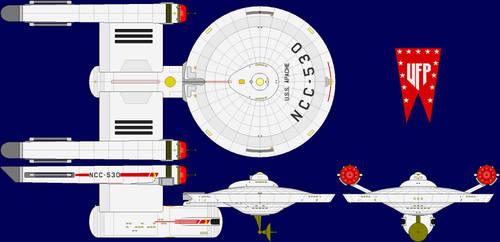 USS Apache Multi-View by captshade