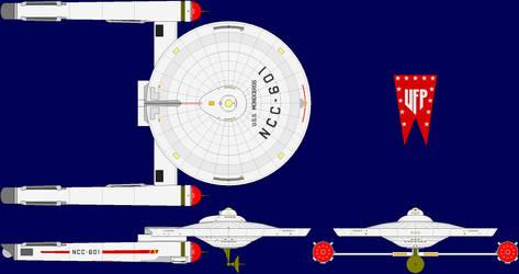 USS Monoceros Multi-View by captshade
