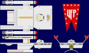 USS Griff Multi-View