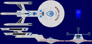 USS Triton Multi-View