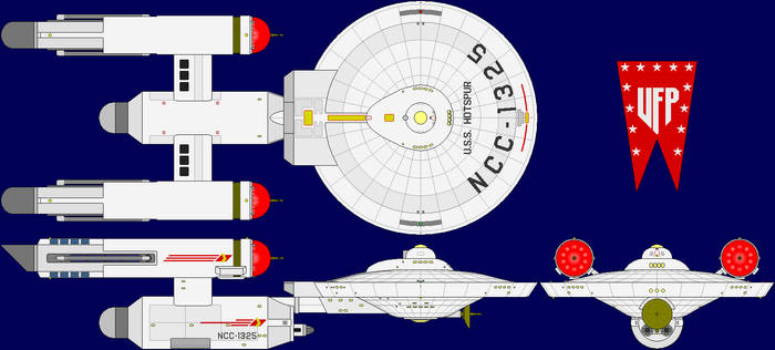 USS Hotspur Multi-View