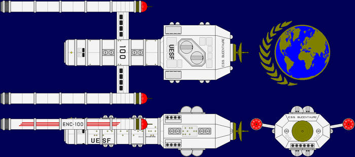 USS Bucentaure Multi-View