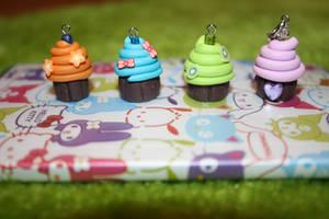 Fimo Cupcakes by MariNakuMori