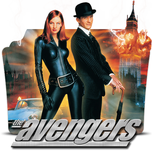 the avengers 1998 movie poster