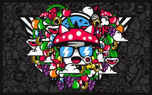Mushrooms by abstrasctik