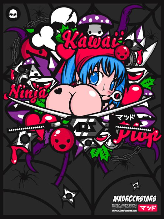 Kawaii Ninja by abstrasctik