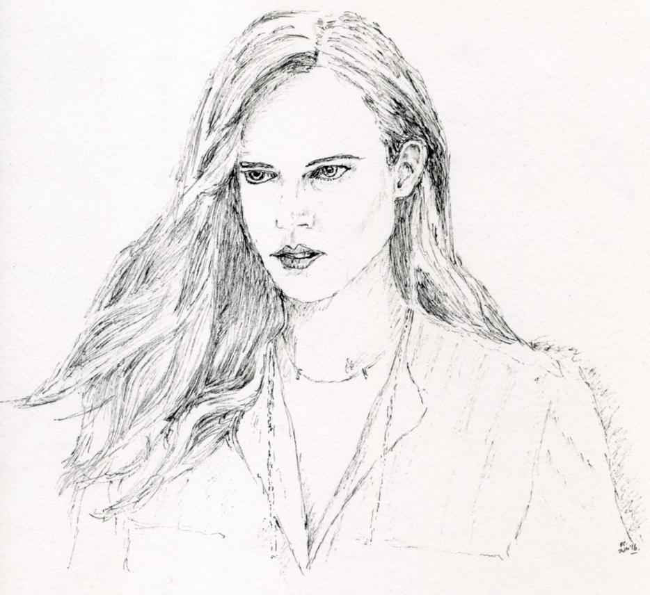 Freja Sketch by Nieseln