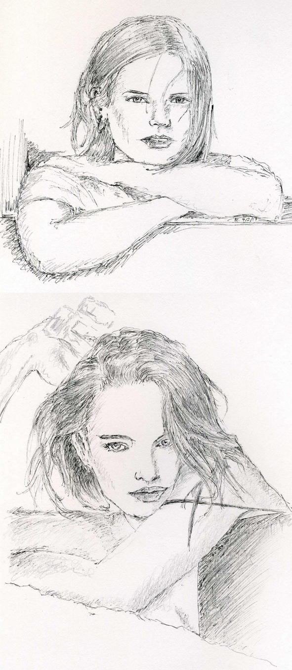 2 Sketches by Nieseln