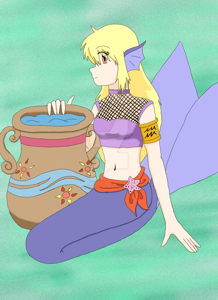 Aquarius - The Water Carrier by Hobbit-chan