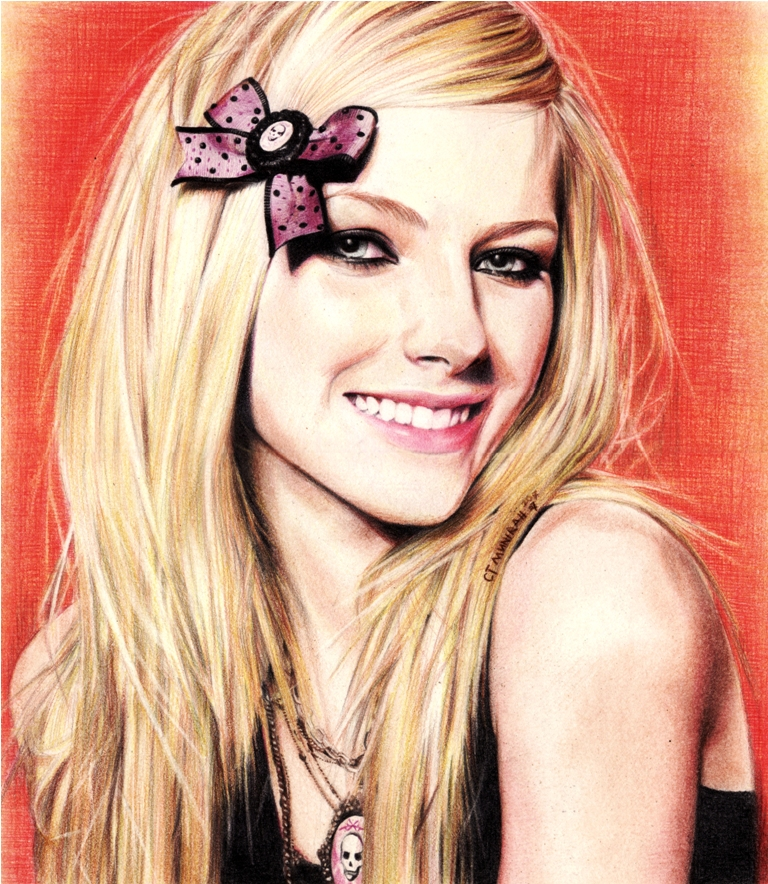 Avril Lavigne [1] by ctMunirah