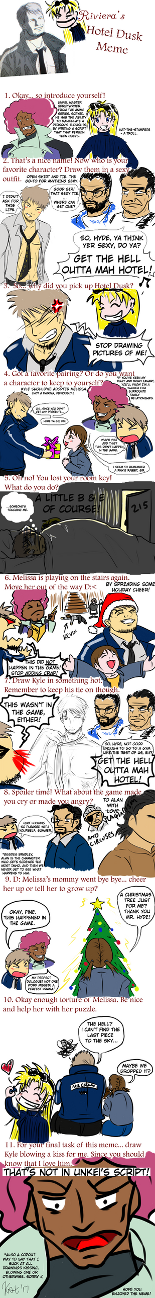 Hotel Dusk: Room 215 Meme by Kat-The-Stampede