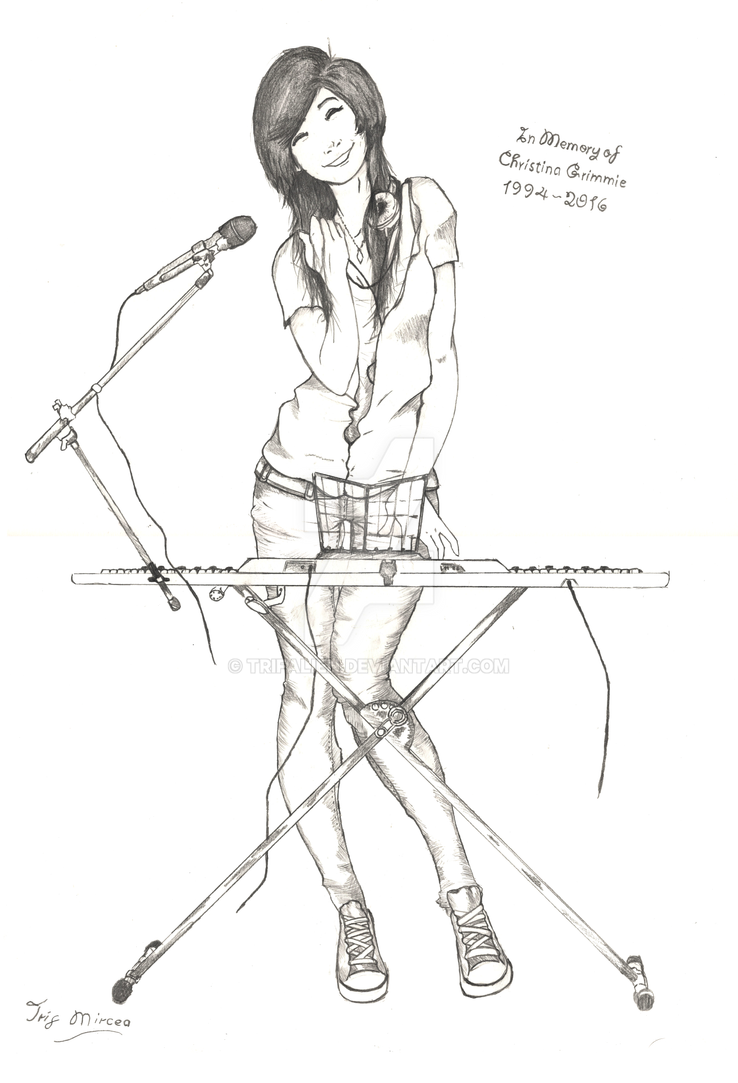 Christina Grimmie by trifalien